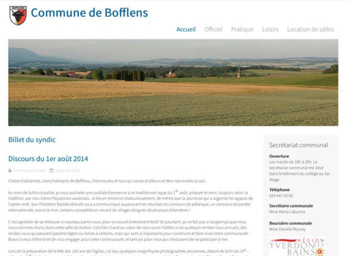 commune de bofflens