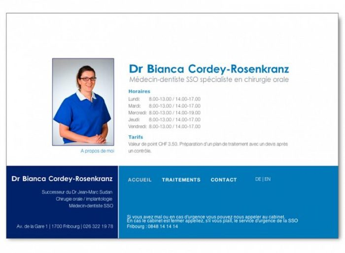 site médecin dentiste