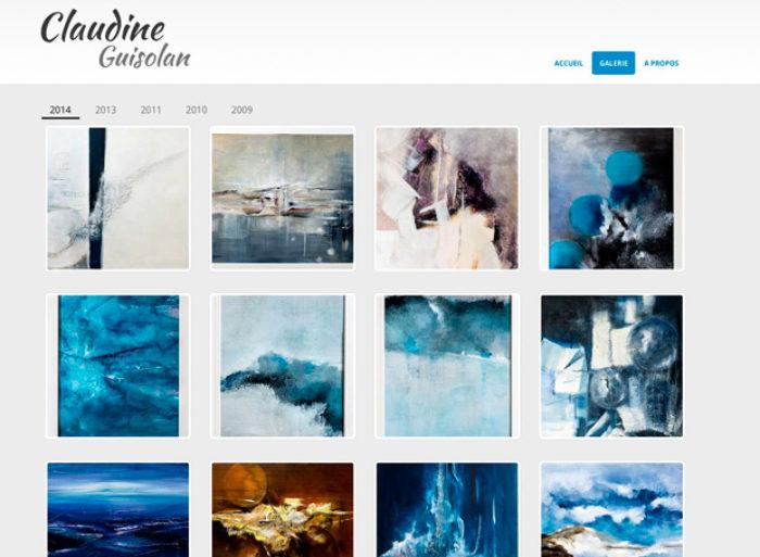 site web artiste peintre