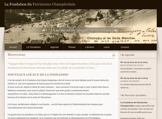 patrimoine champérolain